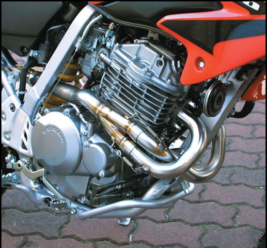 4 Strike Competition Exhaust Pipe