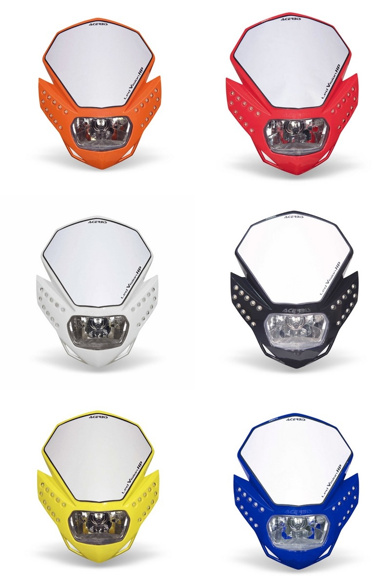 【ACERBIS】LED Vision HP 頭燈 - 「Webike-摩托百貨」