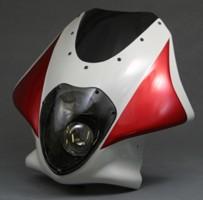 【A-TECH】頭燈整流罩 LUNASOLE - 「Webike-摩托百貨」