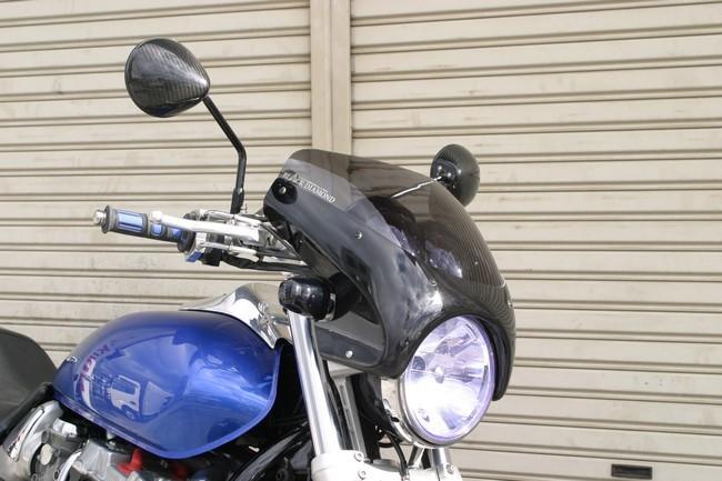 【A-TECH】頭燈整流罩特殊型 type-2 - 「Webike-摩托百貨」