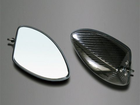【A-TECH】全方向可調式碳纖維後視鏡 整流罩款式用 Type5 - 「Webike-摩托百貨」