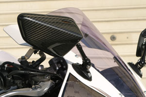 【A-TECH】全方向可調式碳纖維後視鏡 整流罩款式用 Type3 - 「Webike-摩托百貨」