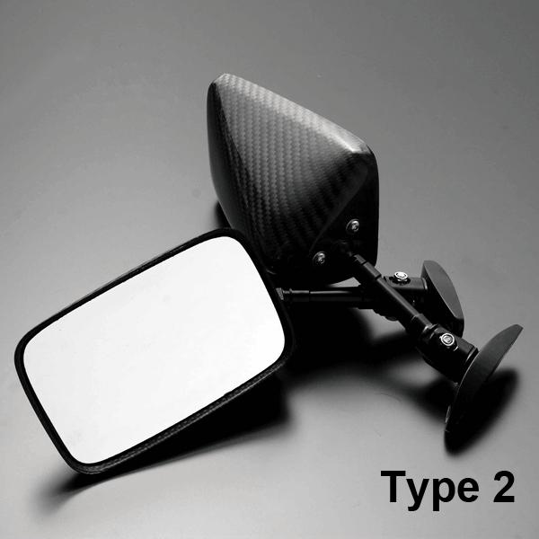 【A-TECH】碳纖維後視鏡 Type 2 - 「Webike-摩托百貨」