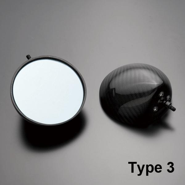 【A-TECH】碳纖維後視鏡 Type 3 - 「Webike-摩托百貨」