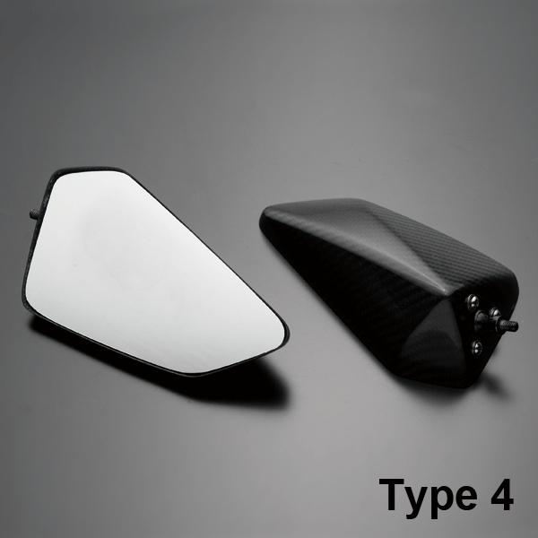 【A-TECH】碳纖維後視鏡 Type 4 - 「Webike-摩托百貨」