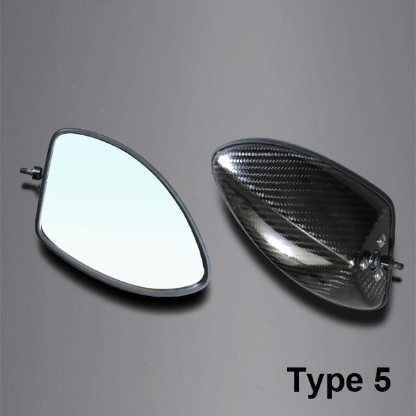 【A-TECH】碳纖維後視鏡 Type 5 - 「Webike-摩托百貨」