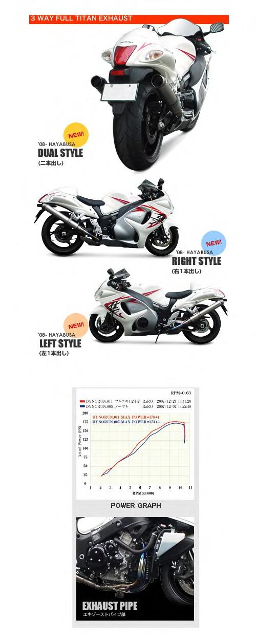 【ASAHINA RACING】EXTEC 3WAY 全鈦合金 全段排氣管 - 「Webike-摩托百貨」