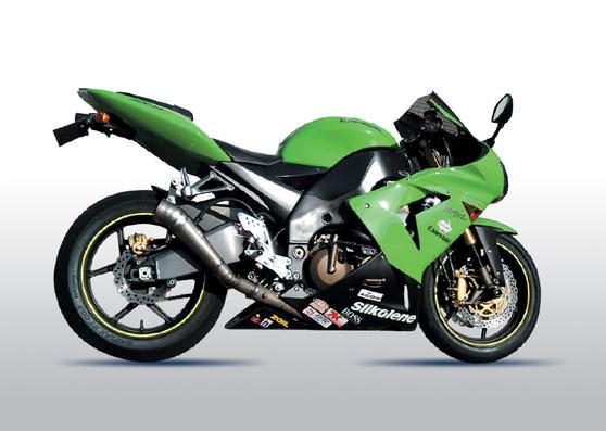 【ASAHINA RACING】EXTEC GP擴音型排氣管尾段 - 「Webike-摩托百貨」