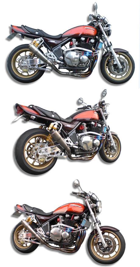【ASAHINA RACING】EXTEC 中央集中型 錐型尾段短版全段排氣管 - 「Webike-摩托百貨」