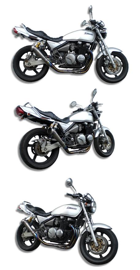 【ASAHINA RACING】GP 擴音型 全鈦合全段排氣管 - 「Webike-摩托百貨」