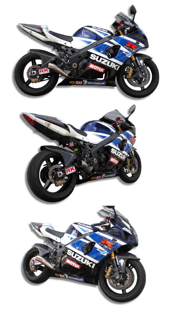 【ASAHINA RACING】GP 擴音型排氣管尾段 短版 - 「Webike-摩托百貨」