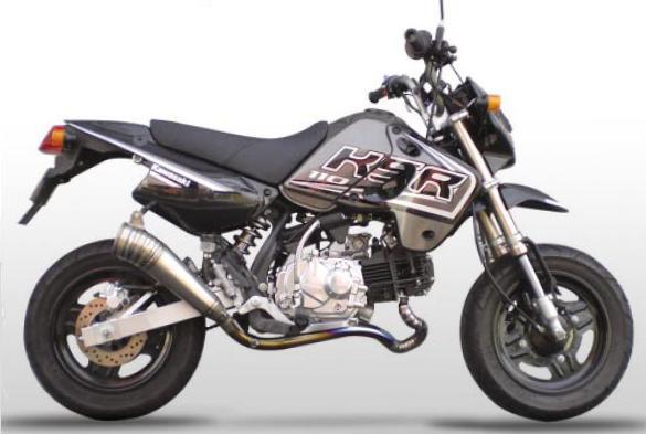 【ASAHINA RACING】EXTEC Titanium formula MINI 鈦合金全段排氣管 - 「Webike-摩托百貨」