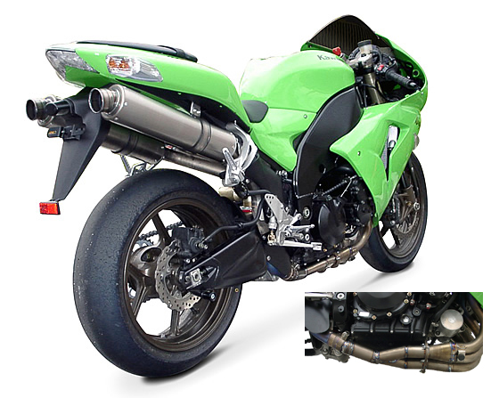 【ASAHINA RACING】EXTEC Bolt-on排氣管尾段(附觸媒直通管) - 「Webike-摩托百貨」