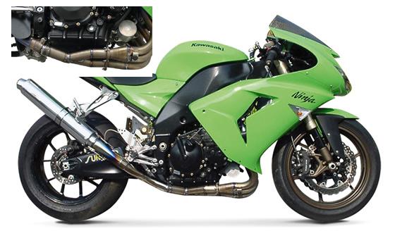 【ASAHINA RACING】EXTEC 排氣管尾段(附觸媒直通管) - 「Webike-摩托百貨」