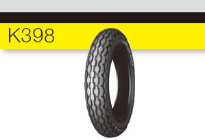 【DUNLOP】K398 【2.50-8 4PR WT】 輪胎 - 「Webike-摩托百貨」