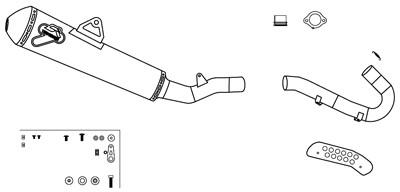 【TERMIGNONI】全段排氣管套件 - 「Webike-摩托百貨」