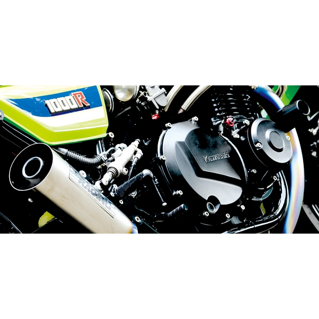 【NITRO RACING】4in1 手工彎曲 Steel megaphone 全段排氣管 Z1000R/J Z1100R/GP用 - 「Webike-摩托百貨」