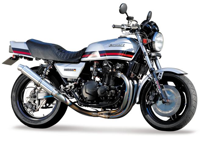 【NITRO RACING】4in1 手工彎曲 鈦合金 全段排氣管 UP Type  Z1000J/R用 - 「Webike-摩托百貨」