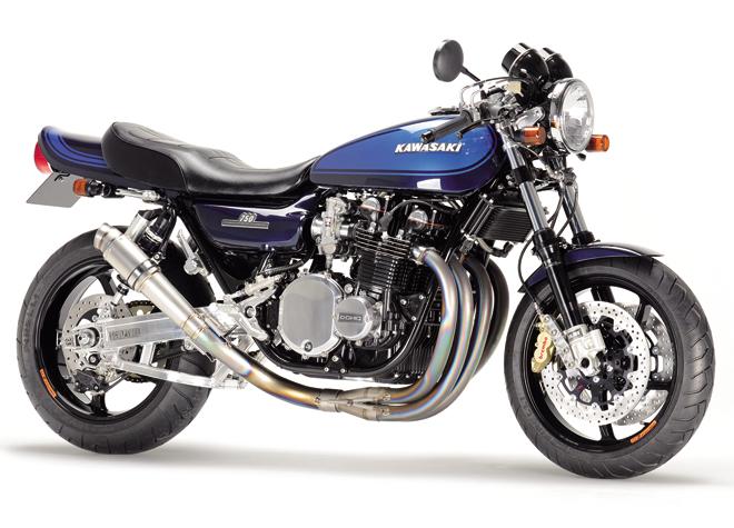 【NITRO RACING】4in1 手工彎曲 鈦合金 全段排氣管(Short) Z1/Z2/Mk-2/Z1-R/Z750FZ-1用 - 「Webike-摩托百貨」