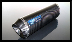 【BlueFlame】EVO 碳纖維排氣管尾段 - 「Webike-摩托百貨」