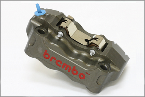 【brembo】P4 30/34 100mm CNC切削加工 輻射煞車卡鉗套件  (左右組) - 「Webike-摩托百貨」