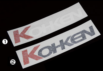 【KOHKEN】KOHKEN 貼紙L - 「Webike-摩托百貨」