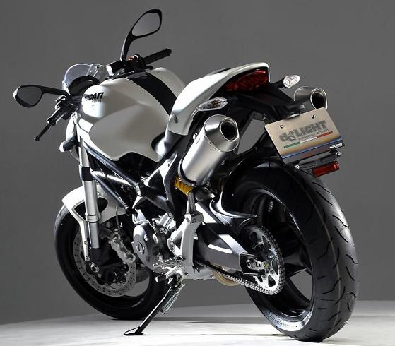 【de LIGHT】鈦合金排氣管尾段 - 「Webike-摩托百貨」