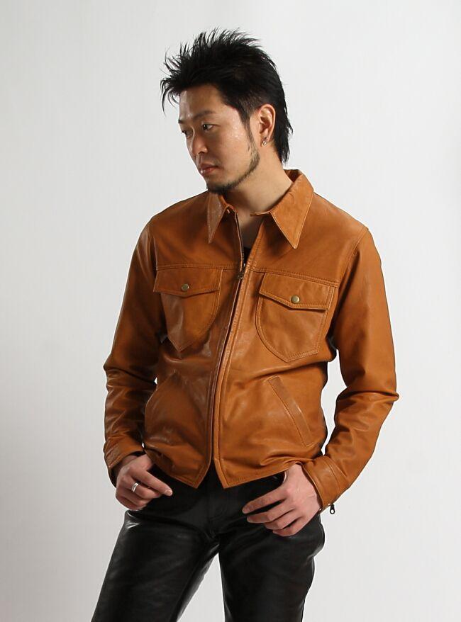 【DEGNER】男用皮革襯衫 - 「Webike-摩托百貨」