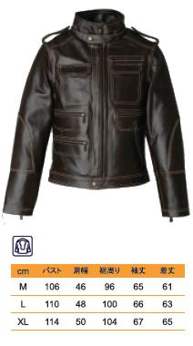【DEGNER】皮革夾克 7WJ-1 - 「Webike-摩托百貨」