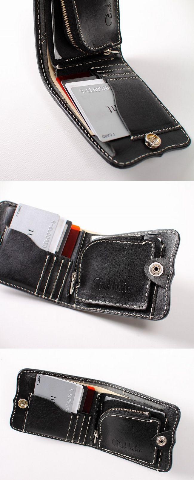 【DEGNER】DAD HOLIC 皮革對摺錢包 - 「Webike-摩托百貨」