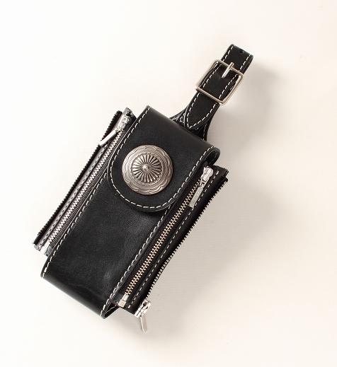 【DEGNER】Flicase 皮革拉鍊手機套 - 「Webike-摩托百貨」