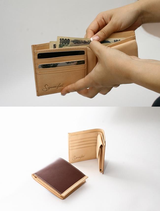 【DEGNER】Squarefeet 對摺錢包 - 「Webike-摩托百貨」
