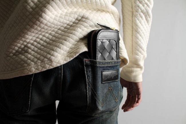 【DEGNER】Squarefeet 拉鍊對摺錢包 - 「Webike-摩托百貨」
