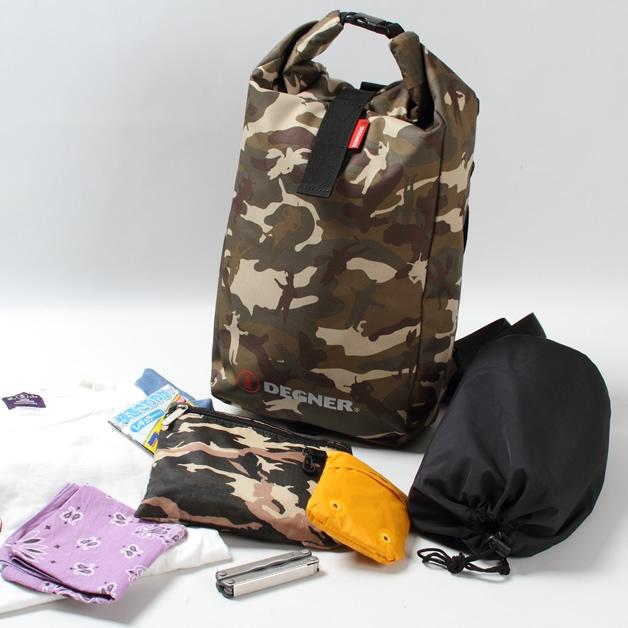 【DEGNER】迷彩3用防水包 - 「Webike-摩托百貨」