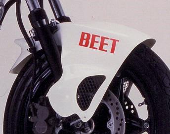 【BEET】Aero shark 前土除 - 「Webike-摩托百貨」