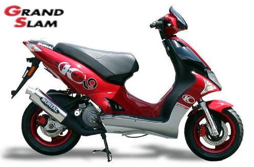 【BURIAL】Grand Slam 全段排氣管 (紅) - 「Webike-摩托百貨」