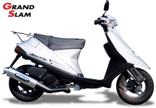 【BURIAL】Grand Slam 全段排氣管 (黑) - 「Webike-摩托百貨」