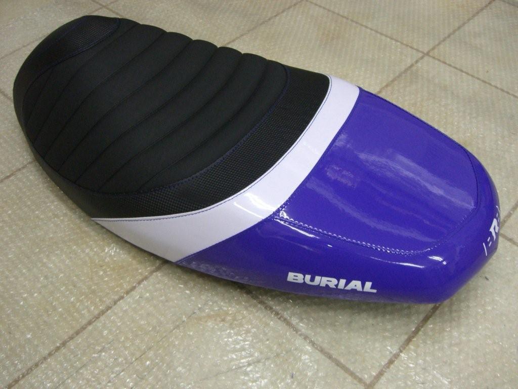 【BURIAL】Sportif 坐墊 (藍) - 「Webike-摩托百貨」