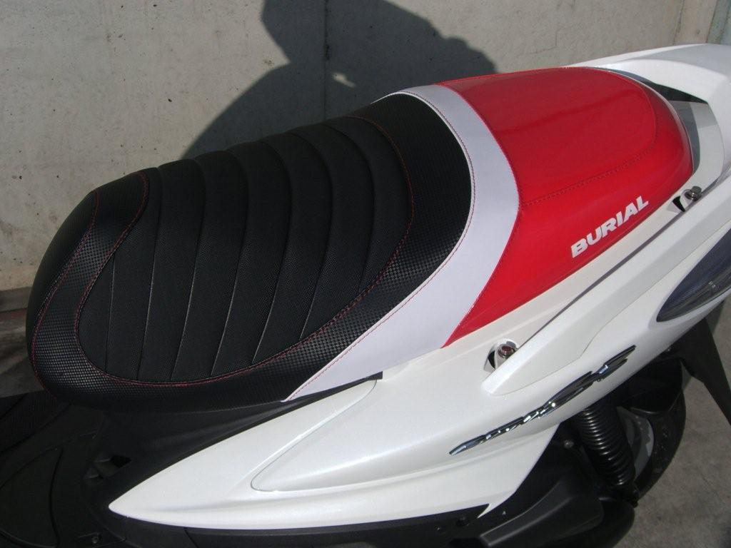 【BURIAL】Sportif 坐墊 (紅) - 「Webike-摩托百貨」