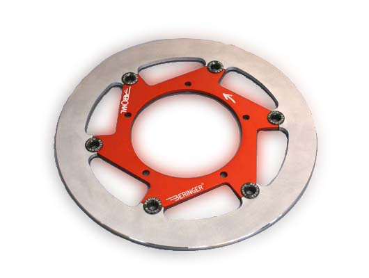 【BERINGER】AERONAL DISC 煞車碟盤 (左) 鈦色 - 「Webike-摩托百貨」