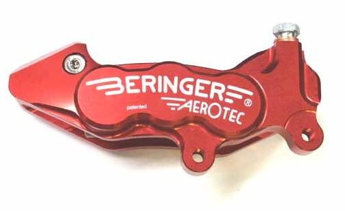 【BERINGER】AEROTEC CALIPER 煞車卡鉗 右用 (紅色) - 「Webike-摩托百貨」