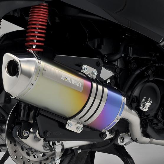 【MORIWAKI】ZERO 全段排氣管 【黑珍珠色】 - 「Webike-摩托百貨」
