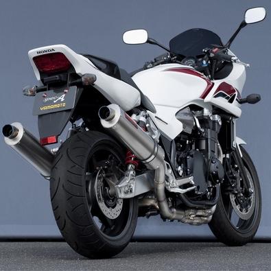 【YAMAMOTO RACING】鈦合金橢圓型全段排氣管 - 「Webike-摩托百貨」