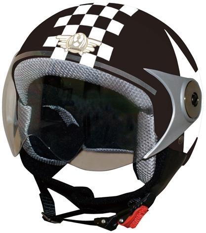 【DAMMTRAX】POPO GT 安全帽(Check&Star) - 「Webike-摩托百貨」
