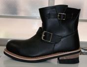 【DAMMFLAPPER】超短工程師靴 - 「Webike-摩托百貨」