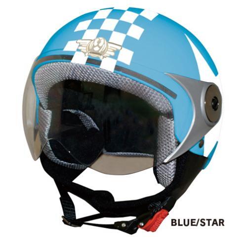 【DAMMTRAX】POPO GT安全帽 (格紋&星星) - 「Webike-摩托百貨」