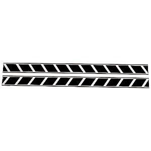 【YAMAHA】閃光貼紙組套 75cm - 「Webike-摩托百貨」
