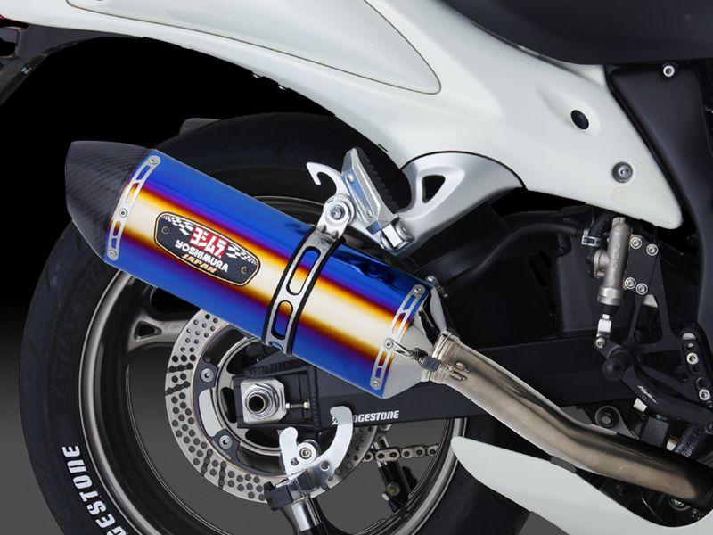 【YOSHIMURA】R-77J CYCLONE EXPORT SPEC雙尾管排氣管尾段 - 「Webike-摩托百貨」