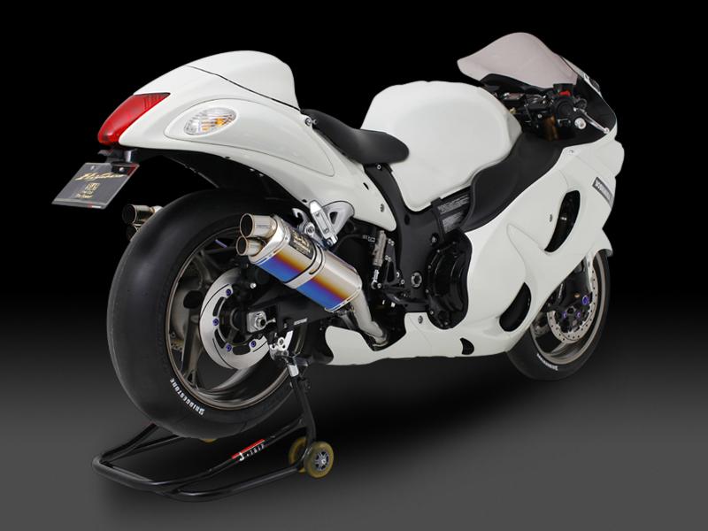 【YOSHIMURA】RACING CYCLONE 三角型雙孔排氣管尾段 - 「Webike-摩托百貨」