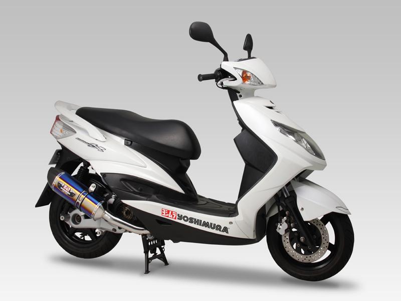 【YOSHIMURA】R-77SCYCLONE 碳纖維尾蓋全段排氣管 - 「Webike-摩托百貨」